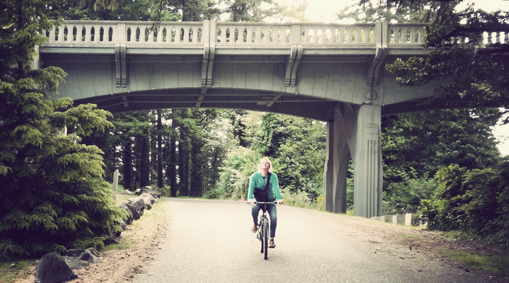 Coos Bay Mountain Bike Tour